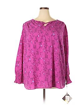 Ava & Viv Long Sleeve Blouse Size XXL
