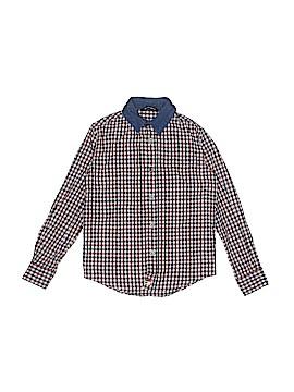 La Miniatura Long Sleeve Button-Down Shirt Size 6