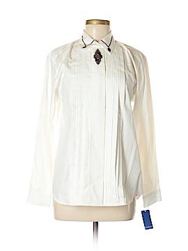 David Brooks Long Sleeve Button-Down Shirt Size 6