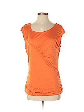 Etcetera Short Sleeve Silk Top Size M