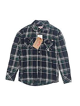 Appaman Long Sleeve Button-Down Shirt Size 7