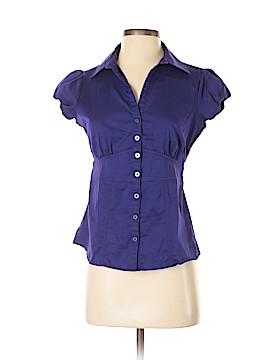 Banana Republic Factory Store Short Sleeve Button-Down Shirt Size 4