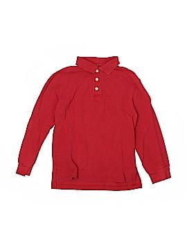 L.L.Bean Long Sleeve Polo Size 8 (Slim)