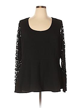 City Chic Long Sleeve Blouse Size 24 Plus (XL) (Plus)