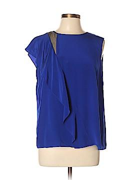 Antonio Melani Short Sleeve Silk Top Size L