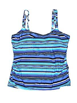 Croft & Barrow Swimsuit Top Size 16