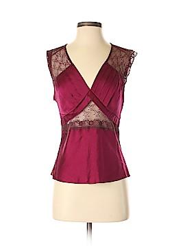 Moda International Sleeveless Silk Top Size S
