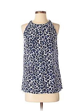 Cynthia Rowley TJX Sleeveless Silk Top Size S