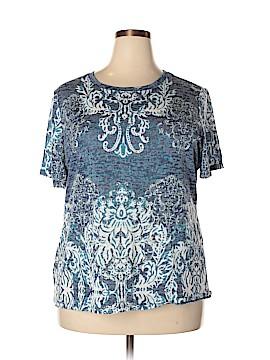 INC International Concepts Short Sleeve T-Shirt Size 2X (Plus)
