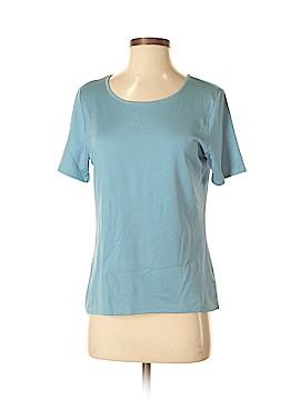 Ellen Tracy Short Sleeve Silk Top Size S