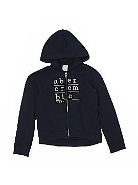 Abercrombie Zip Up Hoodie Size 8