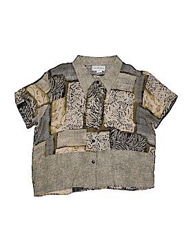 California Krush Short Sleeve Blouse Size XL