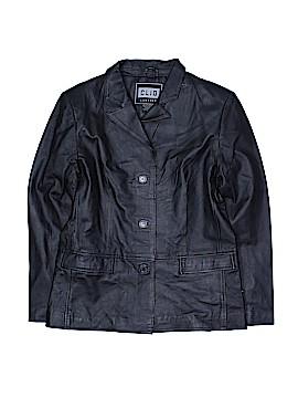 Clio Leather Jacket Size 8