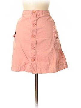 L.L.Bean Factory Store Denim Skirt Size 16