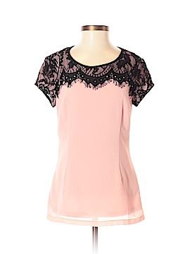 Mikarose Short Sleeve Blouse Size XS