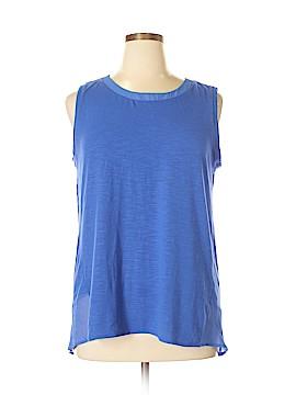 Adrienne Vittadini Sleeveless Blouse Size XL