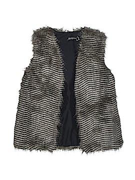 Choices Faux Fur Vest Size M