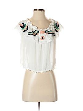 Raga Short Sleeve Blouse Size S