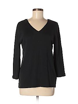 Anne Klein 3/4 Sleeve T-Shirt Size L