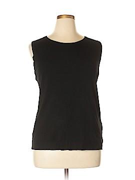 August Silk Sweater Vest Size 2X (Plus)