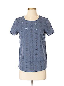 Nine West Vintage America Short Sleeve Blouse Size XS