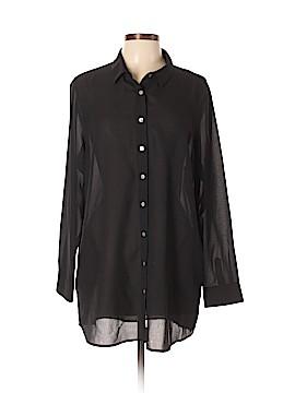 Marla Wynne Long Sleeve Blouse Size XL