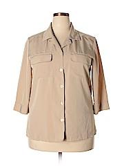 Kathy Che Women 3/4 Sleeve Blouse Size 14