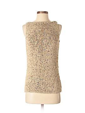 City DKNY Sleeveless Silk Top Size S
