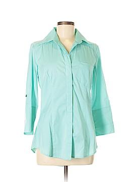 Finley 3/4 Sleeve Button-Down Shirt Size S