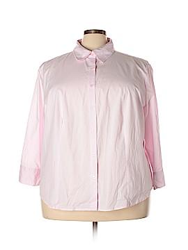 Jessica London Long Sleeve Button-Down Shirt Size 26 - 28 (Plus)