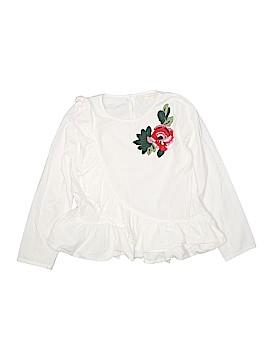 Zara Kids Long Sleeve Blouse Size 11 - 12