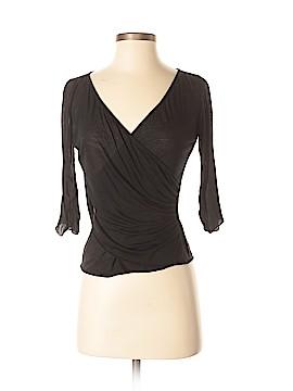 Diane von Furstenberg 3/4 Sleeve Top Size S