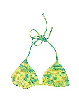 Split Swimsuit Top Size M