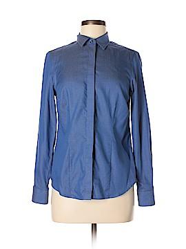 Charles Tyrwhitt Long Sleeve Button-Down Shirt Size 10