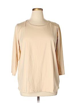 Jones New York 3/4 Sleeve T-Shirt Size 2X (Plus)