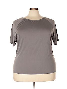 IMAN Short Sleeve T-Shirt Size 2X (Plus)