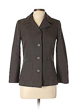 Sandro Sportswear Silk Blazer Size XL Petite (4) (Petite)