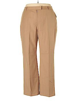 Bloomingdale's Wool Pants Size 22W (Plus)