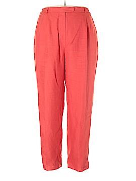 Talbots Linen Pants Size 22w (Plus)