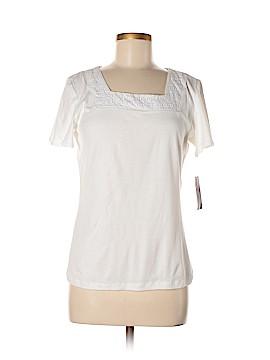 Karen Scott Short Sleeve Top Size M (Petite)