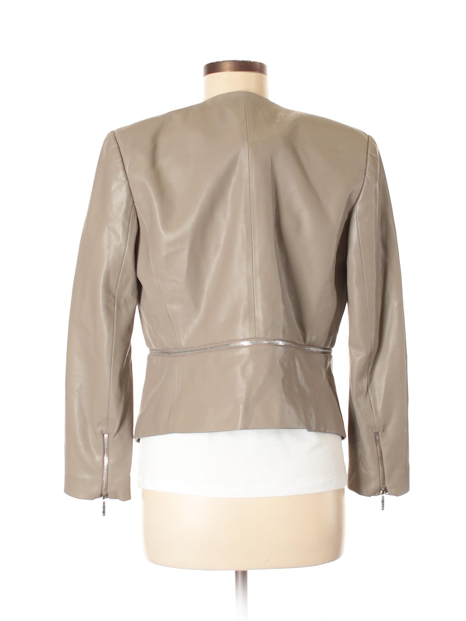 Leisure Leather winter Zara Jacket Faux Basic rvxa1r