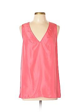 Moda International Sleeveless Silk Top Size L
