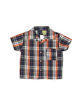 Mick Mack Ltd Short Sleeve Button-Down Shirt Size 12 mo