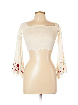 AaKaa 3/4 Sleeve Top Size M