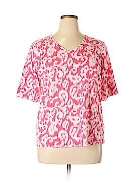 Jones New York Short Sleeve T-Shirt Size 2X (Plus)
