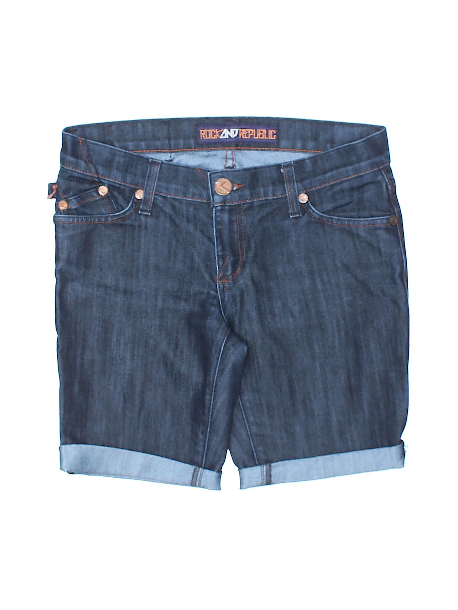 amp; Denim Boutique Shorts Republic Rock qSF7YYwxUX