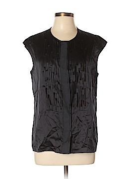 Magaschoni Sleeveless Silk Top Size 14