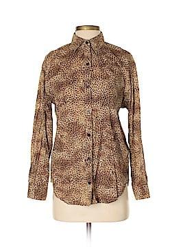 Jones New York Long Sleeve Button-Down Shirt Size S