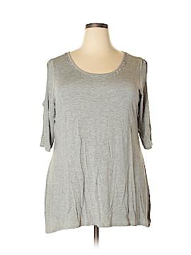 Belldini Short Sleeve Top Size 2X (Plus)