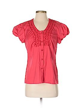 T.J. Maxx Short Sleeve Blouse Size S
